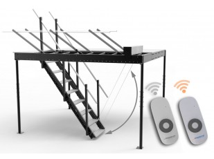 Extra remote control for the electrical stairs lift kit